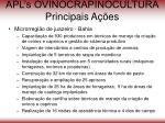 apl s ovinocrapinocultura principais a es61