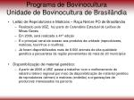 programa de bovinocultura unidade de bovinocultura de brasil ndia72
