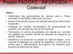 projeto fao cfc infopesca codevasf19