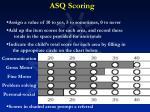 asq scoring
