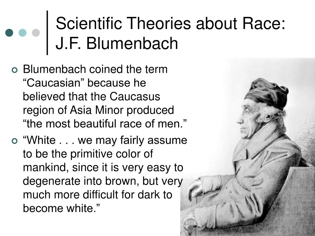 Scientific Theories about Race:
