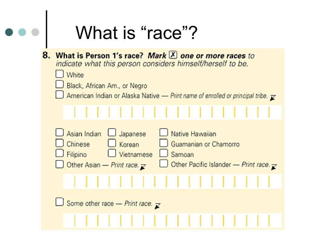 """What is """"race""""?"""