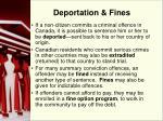 deportation fines