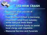 141 arw crash