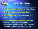 tcr services20