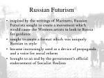 russian futurism