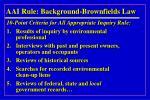aai rule background brownfields law6