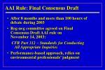 aai rule final consensus draft