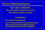review of historical sources