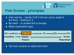 fish screen principles