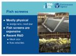 fish screens