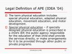 legal definition of ape idea 04