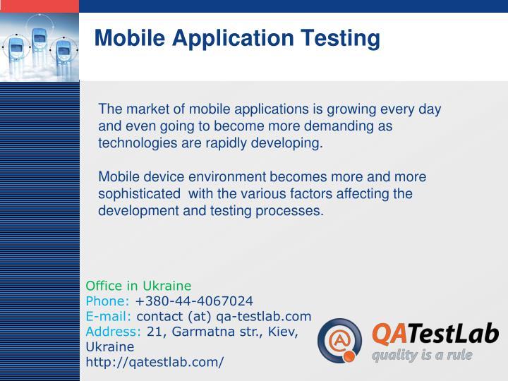 Mobile application testing2