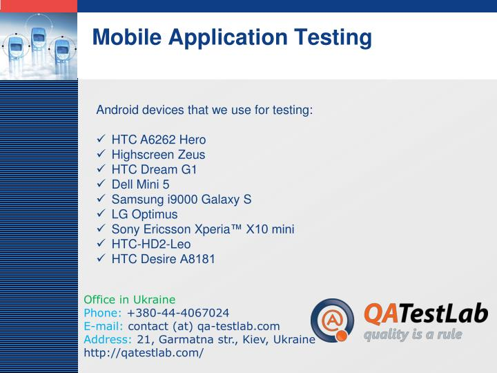 Mobile application testing3