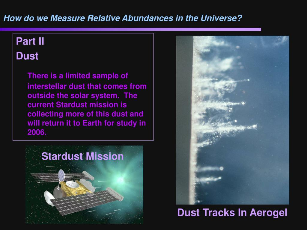 How do we Measure Relative Abundances in the Universe?