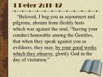 1 peter 2 11 12
