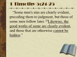 1 timothy 5 24 25