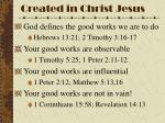 created in christ jesus3