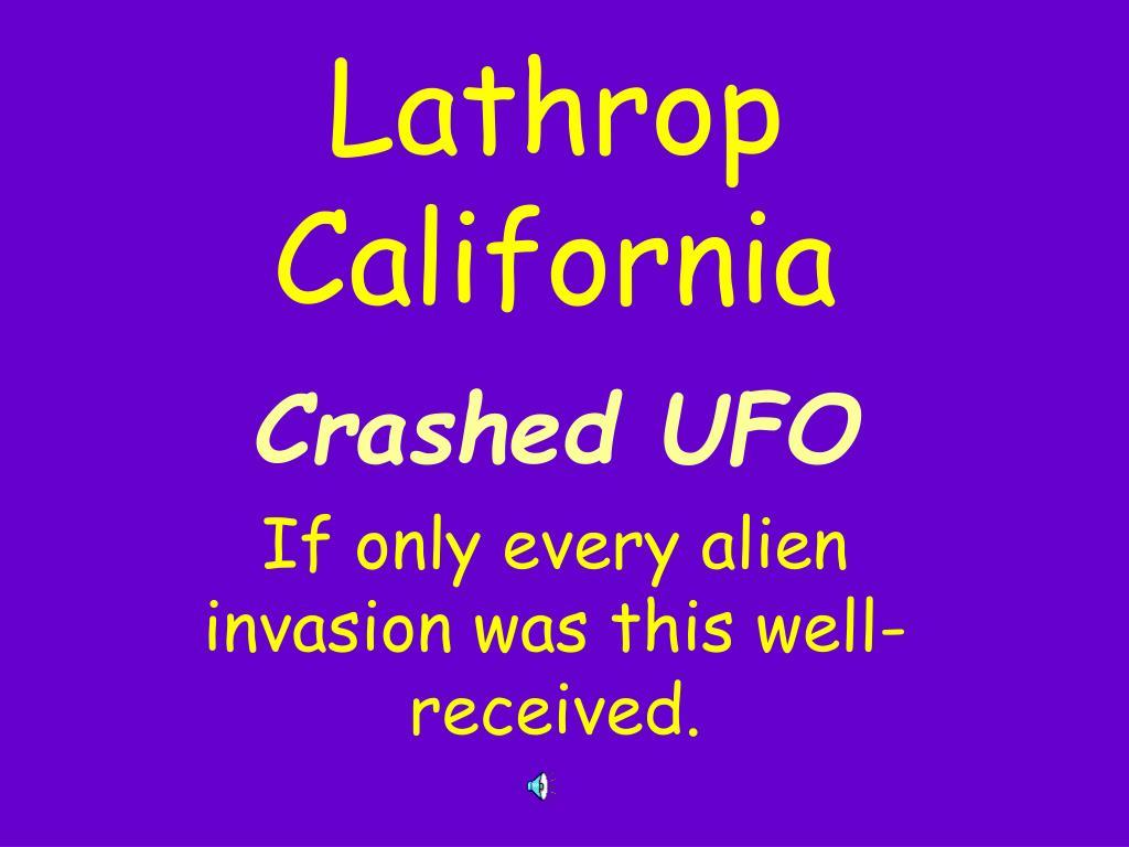 Lathrop California