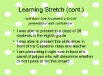 learning stretch cont32