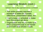 learning stretch cont34