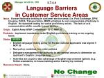3 7 4 4 language barriers in customer service areas