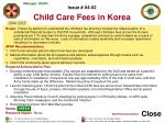 issue 04 02 child care fees in korea