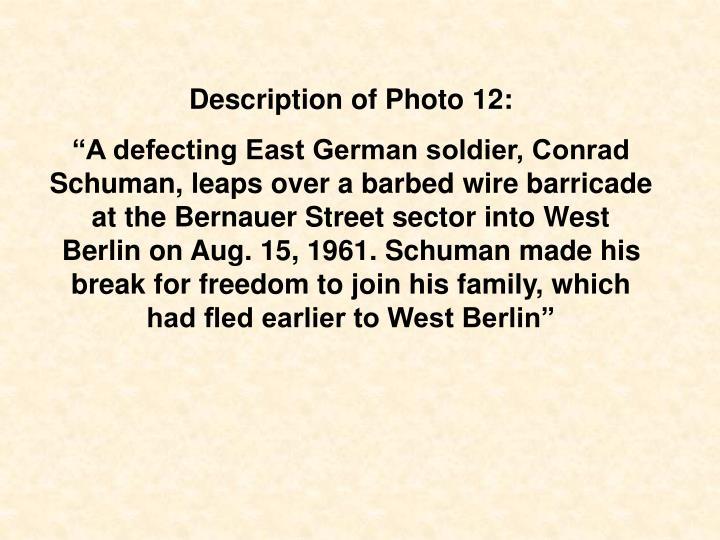 Description of Photo 12: