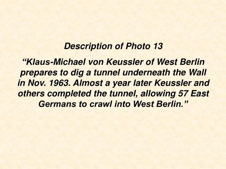 Description of Photo 13
