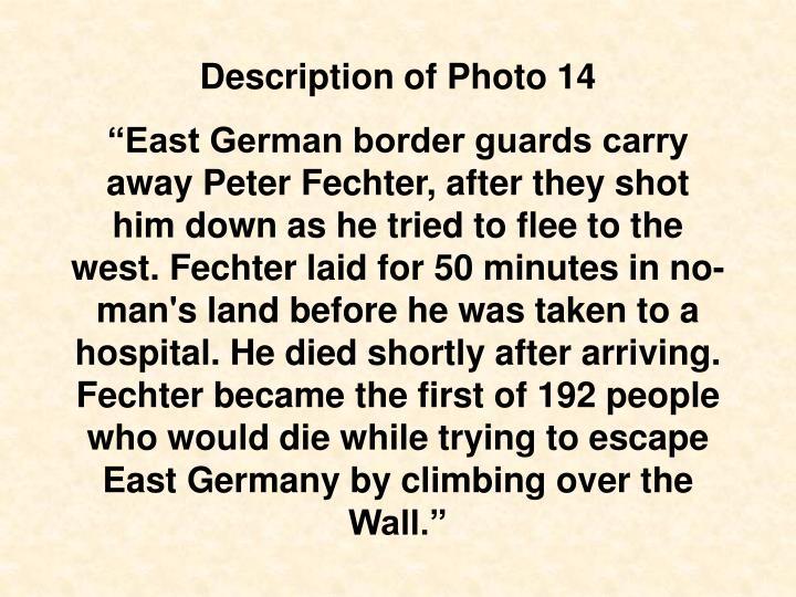 Description of Photo 14