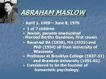 abraham maslow2