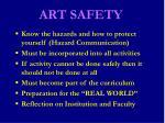 art safety6