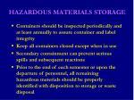 hazardous materials storage23
