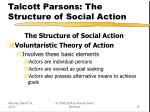 talcott parsons the structure of social action15