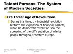 talcott parsons the system of modern societies12