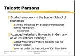 talcott parsons5