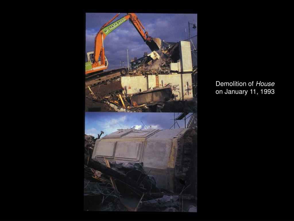 Demolition of