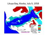 lituya bay alaska july 9 1958