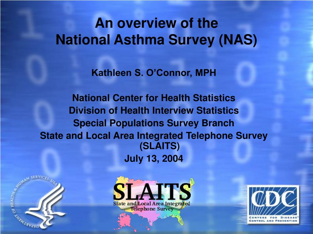 an overview of the national asthma survey nas l.