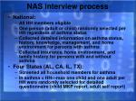 nas interview process