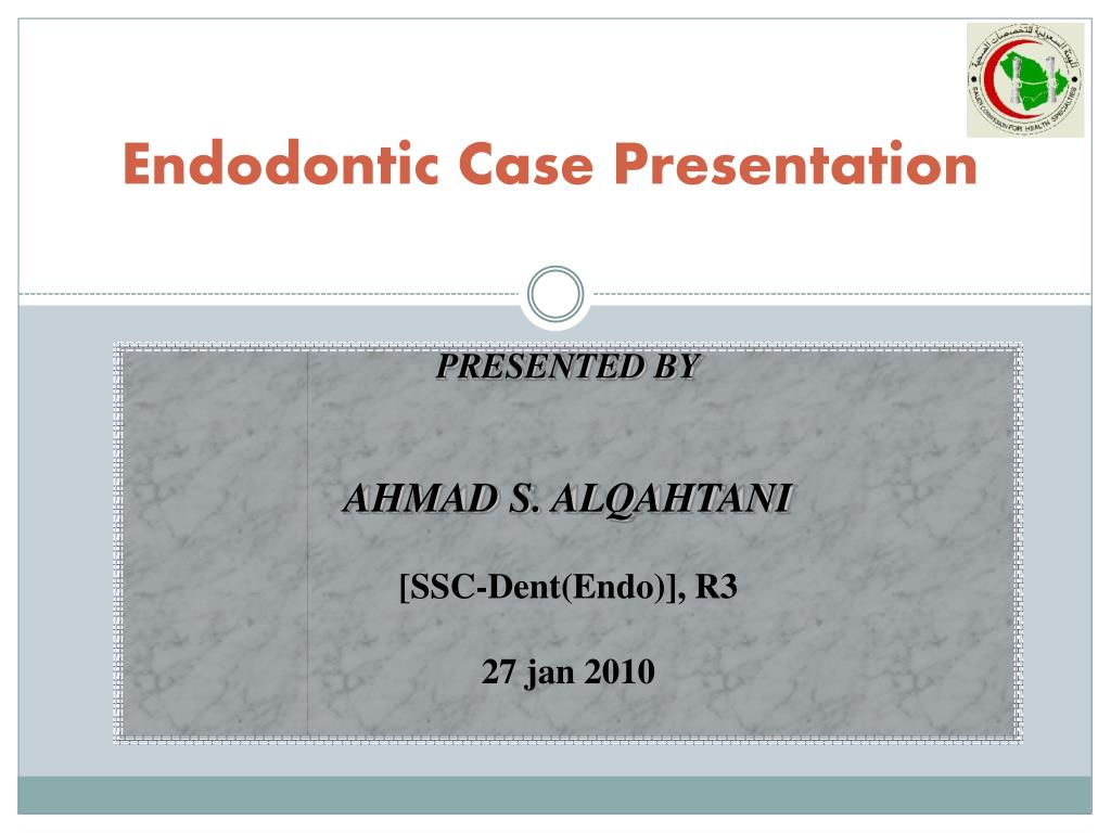 endodontic case presentation l.