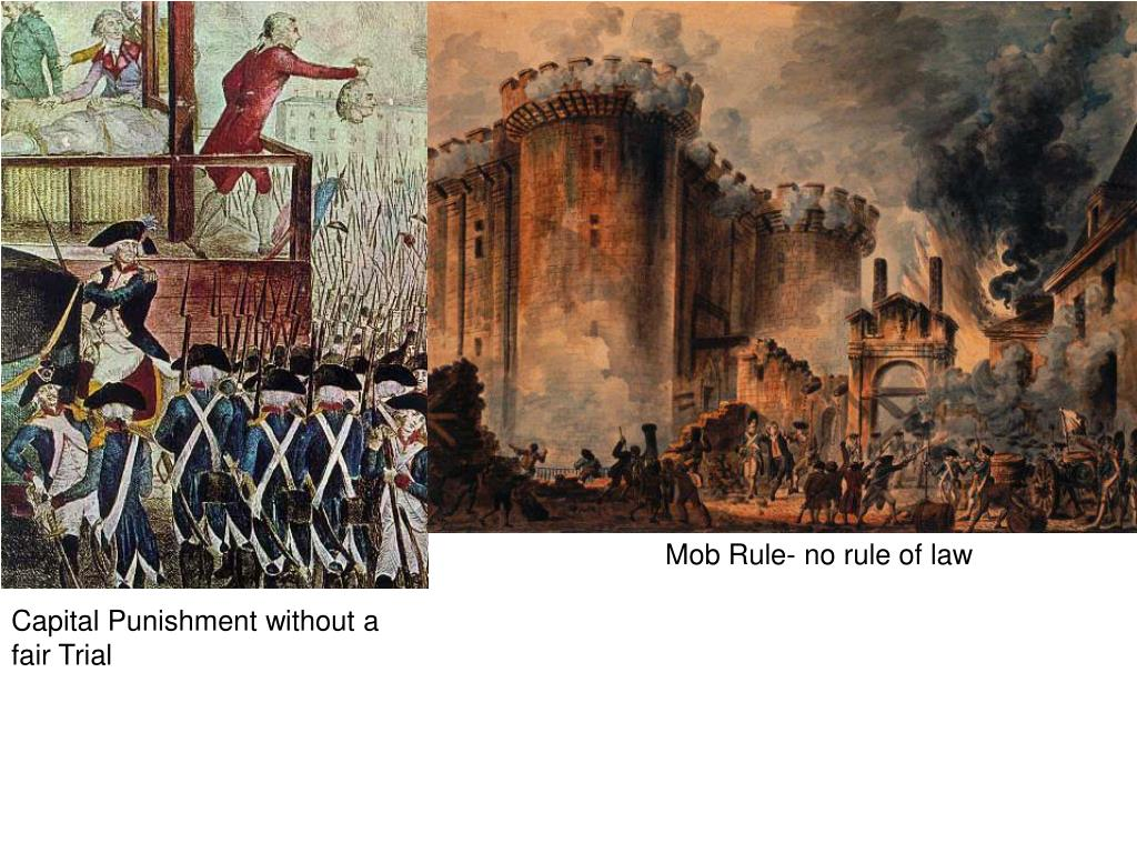 Mob Rule- no rule of law