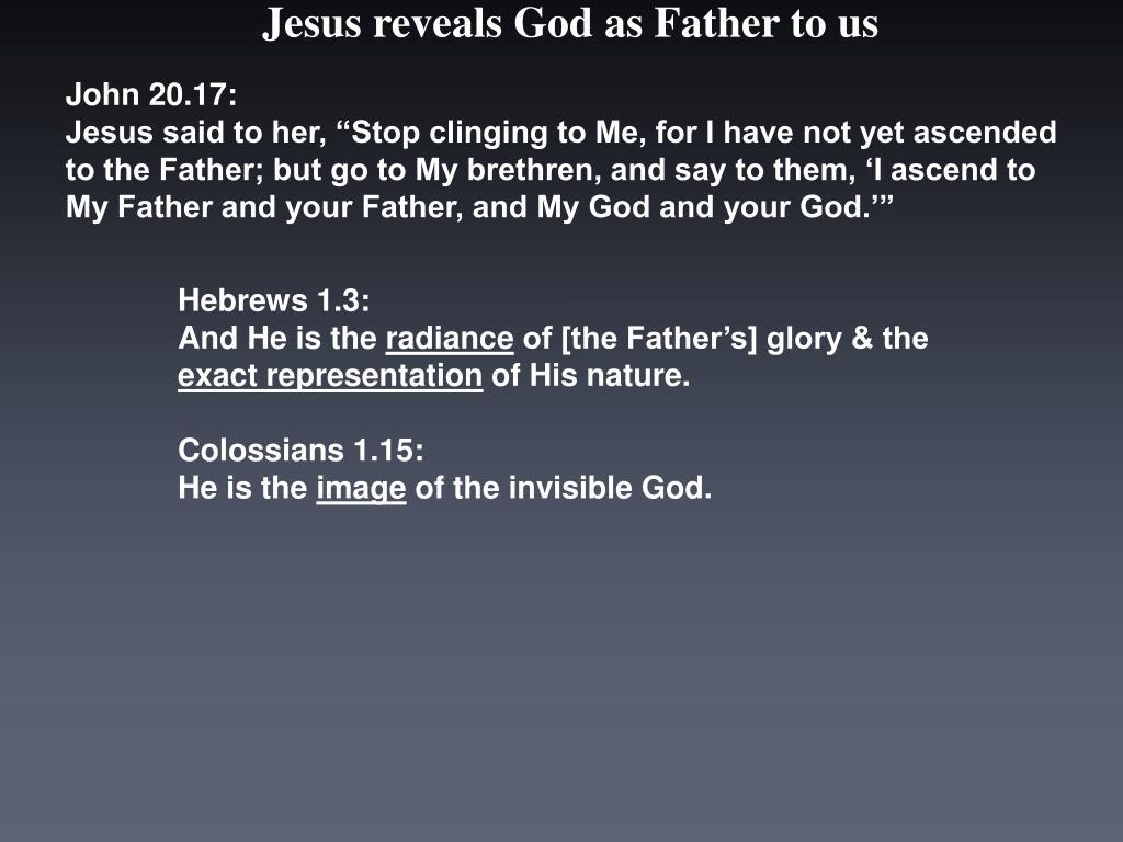 John 20.17: