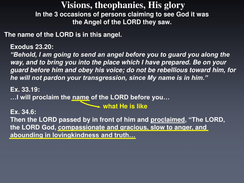 In the 3 occasions of persons claiming to see God it was the Angel of the LORD they saw.