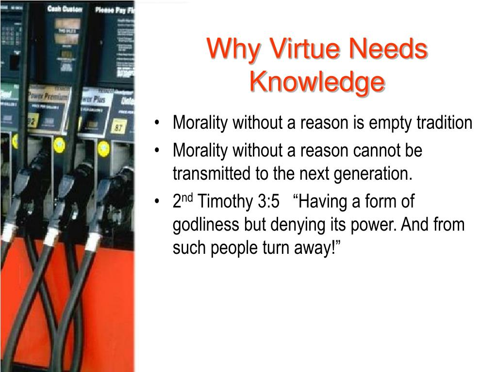 Why Virtue Needs Knowledge