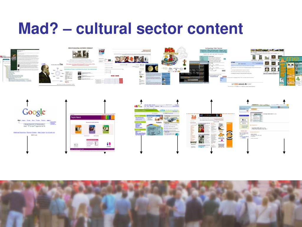 Mad? – cultural sector content