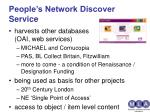 people s network discover service