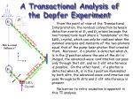 a transactional analysis of the dopfer experiment
