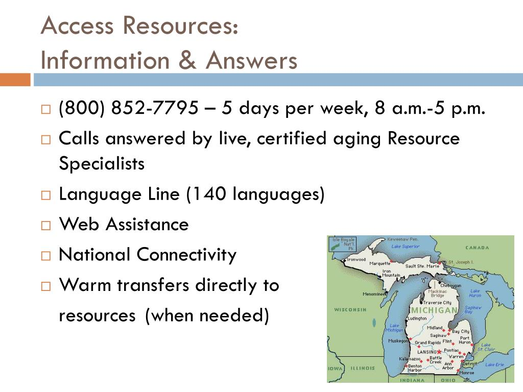 Access Resources: