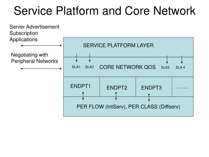 Service Platform and Core Network